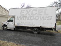 2002 Ford E Series 450 Super Duty Box Truck in Naperville, Illinois