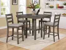 BRAND NEW! QUALITY URBAN SOLID WOOD PUB DINING SET in Camp Pendleton, California