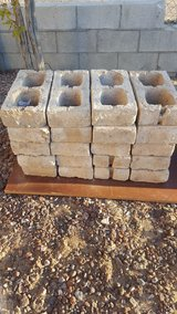 Bricks in Barstow, California