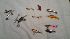 12 fishing lures in Kissimmee, Florida