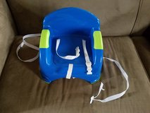 Blue/Green Booster Seat w/Straps in Clarksville, Tennessee