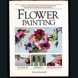 1985 FLOWER PAINTING HB DJ BK, Jenny Rodwell in Chicago, Illinois