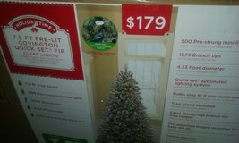 Christmas Tree in Fort Drum, New York