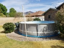 "INTEX 14"""" POOL incl.POOLPUMP and Equipment in Alamogordo, New Mexico"