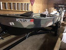 1000 or best offer 16 foot boat great for small lakes and rivers and hunting in Fort Leonard Wood, Missouri