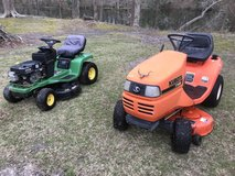 Kubota lawn tractor in Cherry Point, North Carolina