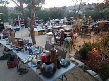 Huge Yard Sale, Lots of Antiques in Yucca Valley, California