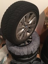"16"" BMW Wheels with Winter Tires in Ramstein, Germany"