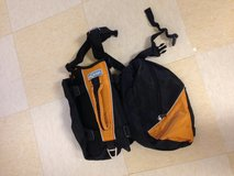 Mid size to large dog harness/storage pouches in Okinawa, Japan