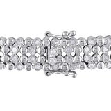 2 CT Diamond Silver Bracelet in Okinawa, Japan