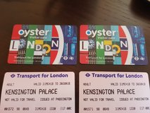 London bus and tram cards and tickets in Ramstein, Germany