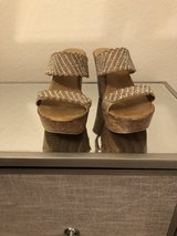Gorgeous blinged wedges size 8 in Davis-Monthan AFB, Arizona