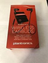 PLANTRONICS BACKBEAT GO 2 WIRELESS BLUETOOTH EARBUDS W/ MICROPHONE in Okinawa, Japan