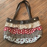 New Thirty-One brown skirt purse with ruffle skirt in Perry, Georgia