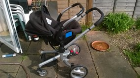 Silver Cross pushchair/car seat all in one in Lakenheath, UK