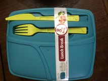 Rubbermaid 8 piece lunch box set in Glendale Heights, Illinois