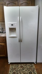 GE 22.0 Cu. Ft. Side-By-Side Refrigerator with Dispenser in Vacaville, California