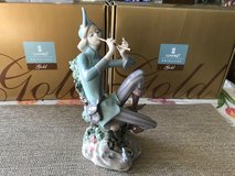 """BEAUTIFUL LLADRO PORCELAIN PRIVILEGE GOLD COLLECTION FIGURINE - """"THE PIED PIPER OF HAMELIN"""" – Re... in Fort Leonard Wood, Missouri"""
