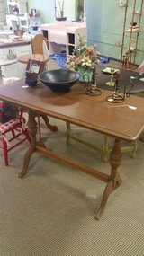 Antique parlor table in Fort Leonard Wood, Missouri
