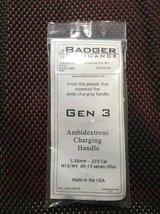 Badger Ambidextrous Charging Handle in San Clemente, California