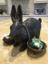 Rabbit with baskets in Macon, Georgia