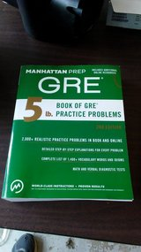 GRE Study Guide in Kingwood, Texas