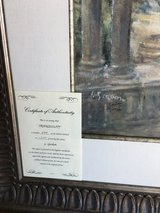 "Beautiful ""Tranquility"" signed print by artist        L. Gordon in Algonquin, Illinois"