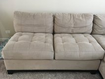 Armless loveseat in Wheaton, Illinois