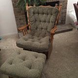 Great condition Marles Glider Chair with ottaman in Algonquin, Illinois