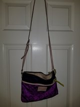 Purple Coach crossbody in Spring, Texas
