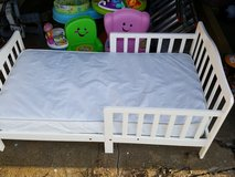 Toddler bed with mattress in Fort Leonard Wood, Missouri