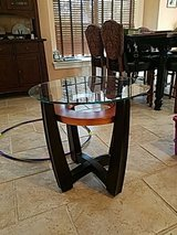 Glass End Table in Baytown, Texas