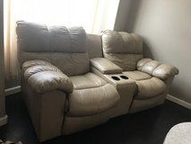 3 piece leather sofa bed and recliners in Camp Pendleton, California