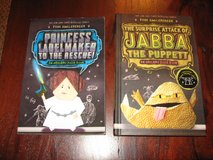 Origami Yoda Books - Princess Labelmaker to the Rescue and The Surprise Attack of Jabba the Puppett in Bartlett, Illinois