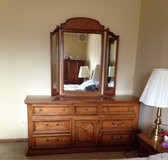 Dresser with two doors mirrors in Tinley Park, Illinois
