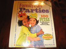 Family Fun Parties Book (hardcover) in Naperville, Illinois