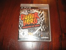 Guitar Hero Warriors of Rock for PS3 in Glendale Heights, Illinois