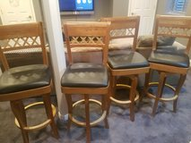 4 pool table chairs in Batavia, Illinois