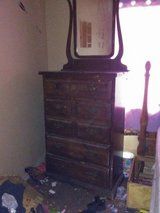 antique dresser and in Yucca Valley, California