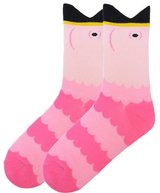 Adorable Wide Mouthed Pink Flamingo Socks by K Bell Brand New In Pack in Camp Lejeune, North Carolina