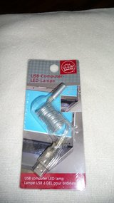 USB - LED LIGHT for the lap-top or desk-top. Bright and efficient. NIB in Okinawa, Japan