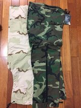 New. Gortex pants BDU and DCU in Okinawa, Japan