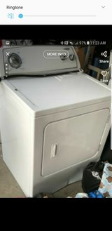 Whirlpool electric dryer in Vacaville, California