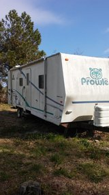 Prowler camper in Cherry Point, North Carolina