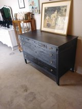Pearl gray antique  dresser/ buffet in Cherry Point, North Carolina