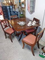 Brandt signed dining table & chairs in Cherry Point, North Carolina