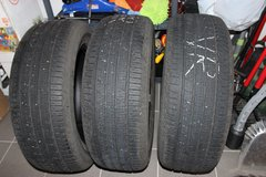 3 USED M+S Continental TIRES: 235/60 R18  103H in Stuttgart, GE