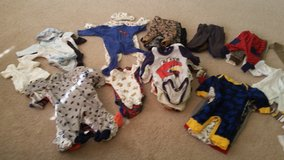 0-3 months Baby Clothes - Boys 70+ Pieces in Morris, Illinois