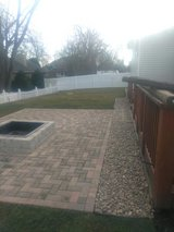 patio, ?? pit,sod, decorative stone in St. Charles, Illinois