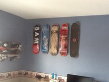 Looking for Used Skateboard Decks for Son's Room . We are also doing a project with them , so if... in Chicago, Illinois